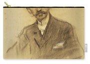 Portrait Of Jacinto Octavio Picon Carry-all Pouch