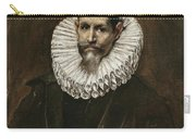 Portrait Of Jeronimo Cevallos Carry-all Pouch
