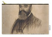 Portrait Of Joan Garriga Carry-all Pouch