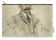 Portrait Of Joan Ventosa Carry-all Pouch