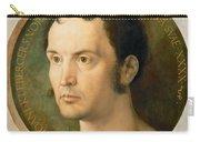 Portrait Of Johannes Kleberger Carry-all Pouch
