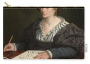 Portrait Of Laura Pisani Carry-all Pouch