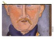Portrait Of Leon Bakst Carry-all Pouch