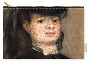 Portrait Of Madame Paul Darras Carry-all Pouch