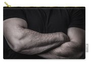 Portrait Of Man Carry-all Pouch