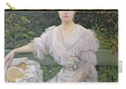 Portrait Of Marguerite Durand Carry-all Pouch