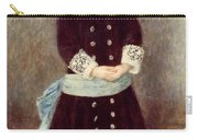 Portrait Of Martha Berard Carry-all Pouch