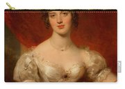 Portrait Of Mary Anne Bloxam Carry-all Pouch by Thomas Lawrence