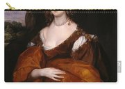 Portrait Of Mary Hill Carry-all Pouch