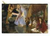 Portrait Of Mlle Fiocre In The Ballet La Source Carry-all Pouch