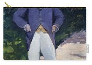 Portrait Of Monsieur Brun Carry-all Pouch