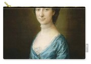 Portrait Of Mrs Clement Tudway Carry-all Pouch