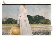 Portrait Of Mrs Lyndon B Johnson Carry-all Pouch by Mountain Dreams