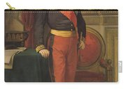 Portrait Of Napoleon IIi 1808-73 1862 Oil On Canvas Carry-all Pouch