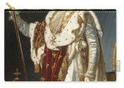 Portrait Of Napoleon In Coronation Robes Carry-all Pouch