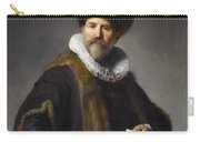 Portrait Of Nicolaes Ruts Carry-all Pouch