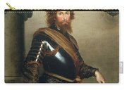 Portrait Of Nicolo Raggi Carry-all Pouch