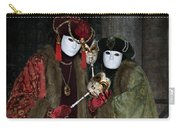 Venetian Carnival - Portrait Of Nobles Carry-all Pouch