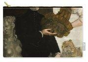 Portrait Of Ottavio Strada Carry-all Pouch