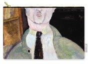 Portrait Of Paul Guillaume Carry-all Pouch