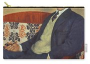 Portrait Of Peter Kapitza 1926 Carry-all Pouch