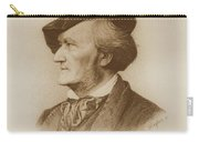 Portrait Of Richard Wagner German Carry-all Pouch