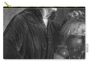 Portrait Of Richard Wagner Carry-all Pouch