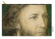 Portrait Of Robert Browning Carry-all Pouch