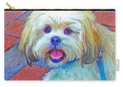 Portrait Of Shih Tzu Carry-all Pouch