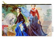 Portrait Of Sisters Shishmarev Carry-all Pouch