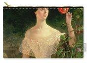 Portrait Of Sofia Andreyevna Shuvalova Carry-all Pouch