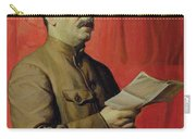 Portrait Of Stalin Carry-all Pouch