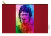 Rainbow Portrait Of Stevie Winwood Carry-all Pouch