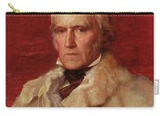 Portrait Of Stratford Canning 1786-1880, Viscount Stratford De Redcliffe 1856-7 Oil On Canvas Carry-all Pouch