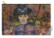 Portrait Of Suzanne Valadon Carry-all Pouch