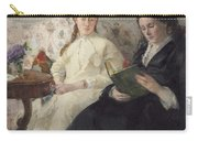 Portrait Of The Artist S Mother And Sister Carry-all Pouch