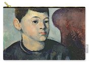 Portrait Of The Artists Son Carry-all Pouch