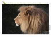 Portrait Of The King Of The Jungle  Carry-all Pouch