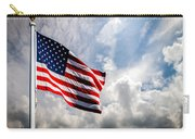 Portrait Of The United States Of America Flag Carry-all Pouch