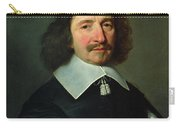 Portrait Of Vincent Voiture 1597-1648 C.1643-44 Oil On Canvas Carry-all Pouch