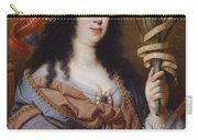 Portrait Of Vittoria Della Rovere As Saint Vittoria Carry-all Pouch