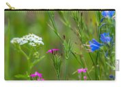 Portrait Of Wildflowers Carry-all Pouch