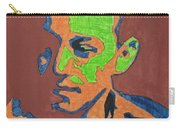 Portrait Plan Of Tennessee Williams  Carry-all Pouch
