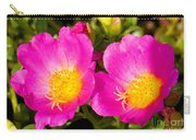Portulaca Flower Carry-all Pouch