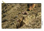 Posing Bighorn Sheep Carry-all Pouch