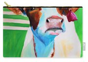 Posing Cow Carry-all Pouch