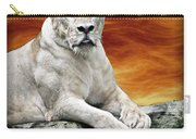 Posing Lioness Carry-all Pouch