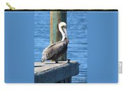 Posing Pelican Carry-all Pouch