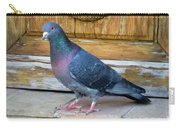 Posing Pigeon  Carry-all Pouch