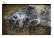 Posing Prettily Carry-all Pouch by Marilyn Wilson